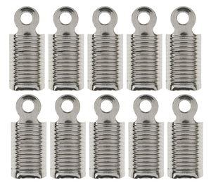 Embouts tube en métal, Dim. 11 mm, oe...,