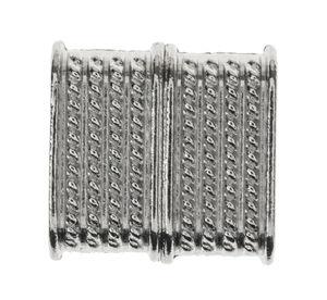 Magnetverschluss platinfarben (14 x 14 mm)