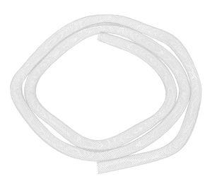 Mesh-Schlauch, 1 m weiß (8 mm)