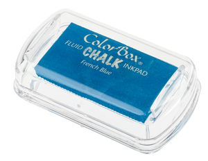 Stempelkussen Chalk (45 x 25 mm) Frans blauw