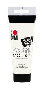 Marabu acryl mousse structuurpasta (100 ml) wit