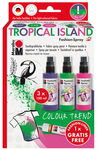 Marabu Fashion spray 'Tropical Island' 3 x 100 ml