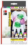 Marabu Fashion spray 'Tropical Island' 3 x 100 ml