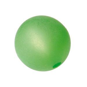 Perla polaris redonda,  verde claro mate (10mm)