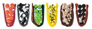 Lote de pompones - Animales 1, 24 ud. 6 diseños