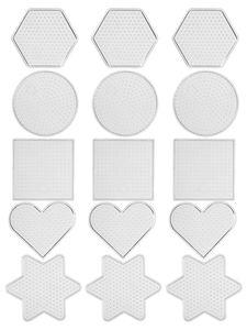Legplaten, 5 x 3 vormen (8 cm)