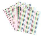 3D stickers in 6 kleuren, 2150 stuks