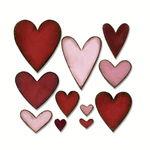 Sizzix Bigz Die Schablone - Heartfelt