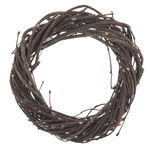 Krans van berkenhout, bruin (20 x 2,5 cm)