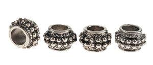 Perles en métal -Tonneau- , Dim. (øxH):...,