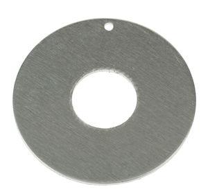 Pendentif en aluminium -Donut-, A rep...,