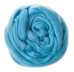 Sprookjeswol van scheerwol, 50 g, lichtblauw