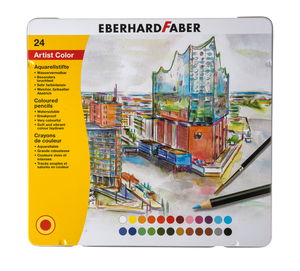 Crayons de couleur aquarellables Eberhard ...