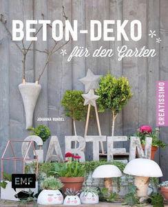 Duits boek: 'Beton-Deko für den Garten'