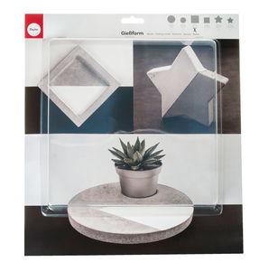 Gietvorm 'Vierkant', 25 x 25 x 4 cm, per stuk
