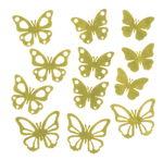 Eléments en feutrine - Papillons, ave...,