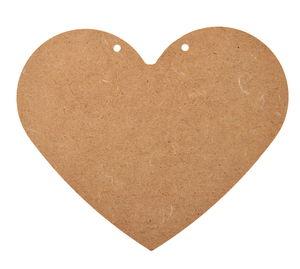 Houten hart (160 x 135 mm)