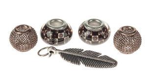 Set d'accessoires pour bijoux -Plume-,