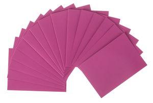 Doppelkarten, 5 Stück pink          (DIN A6)