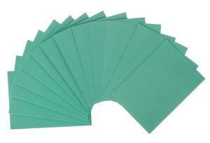 Dubbele kaarten + envelop, mint (A6), 15-delig