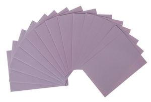 Dubbele kaarten + envelop, lila (A6) 15-delig