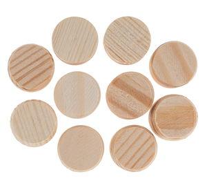 Kieferholzräder ohne Bohrung, 10 Stück (15 mm)