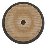 Beukenhouten wiel met rubberband, 33 mm, 11 mm