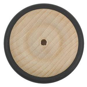 Holzrad mit Gummireifen (43 mm)