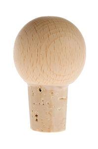 Tappo di sughero con sfera, 5,5 cm, 1 pezzo