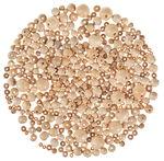 Houten kralen 2e keus, naturel, 250 g