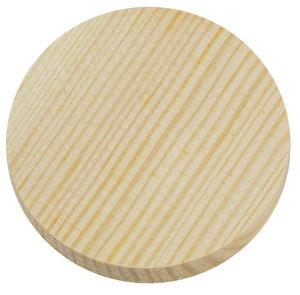 Grenenhouten wiel , ø 70 mm, 15 mm dik, per stuk
