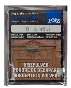 PNZ-beitspoeder (2 g) donkerblauw