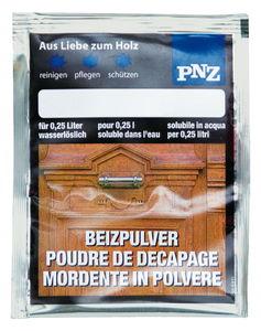 PNZ-beitspoeder (2 g) notenbruin