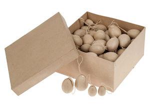 Paper-Art Anhänger-Set Eier, 96 Anhänger