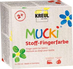 Gouache à doigts sur textile Mucki® , T...,