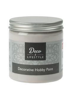 ..Deco & Lifestyle Hobbyfarbe 230ml, Mouse Grey
