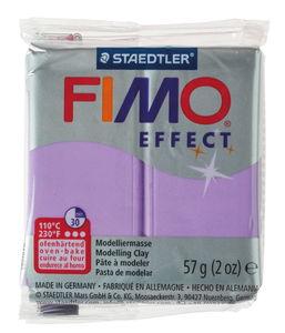 Fimo effect Modelliermasse, 57 g pearl flieder