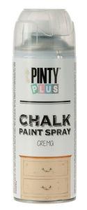 PINTY Plus® Chalk verfspray, crème, 400 ml