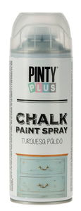 PINTY Plus® Chalk verfspray, licht turkoois,400 ml
