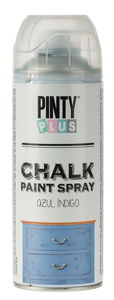 Pinty Plus Chalk Paint Spray, 400 ml blau