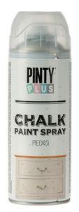 PINTY Plus® Chalk verfspray, steengrijs, 400 ml