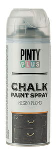 PINTY Plus® Chalk verfspray, zwart, 400 ml