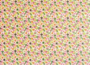 Cartulina estampada - Hibisco (49,5 x 68 cm)
