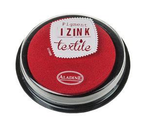 """Coussin encreur """"IZINK Pigment Textile"""", rouge"""