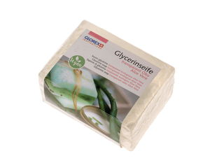 Gietzeep eco 'Aloe Vera', transparant, 500 g