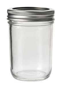 Glas met deksel (200 ml) 6,6 x 7 x 10,5 cm