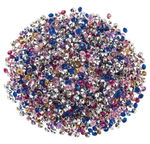 Kristallsteine für Anhänger, 5000 Stück bunt (4mm)
