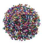 Paillettes, Diam: env. 6 mm, assortim...,