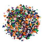 Papier mozaïek mix - driehoeken, 200 g
