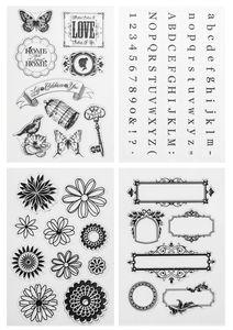 Silikonstempel, 95 Motive Vintage